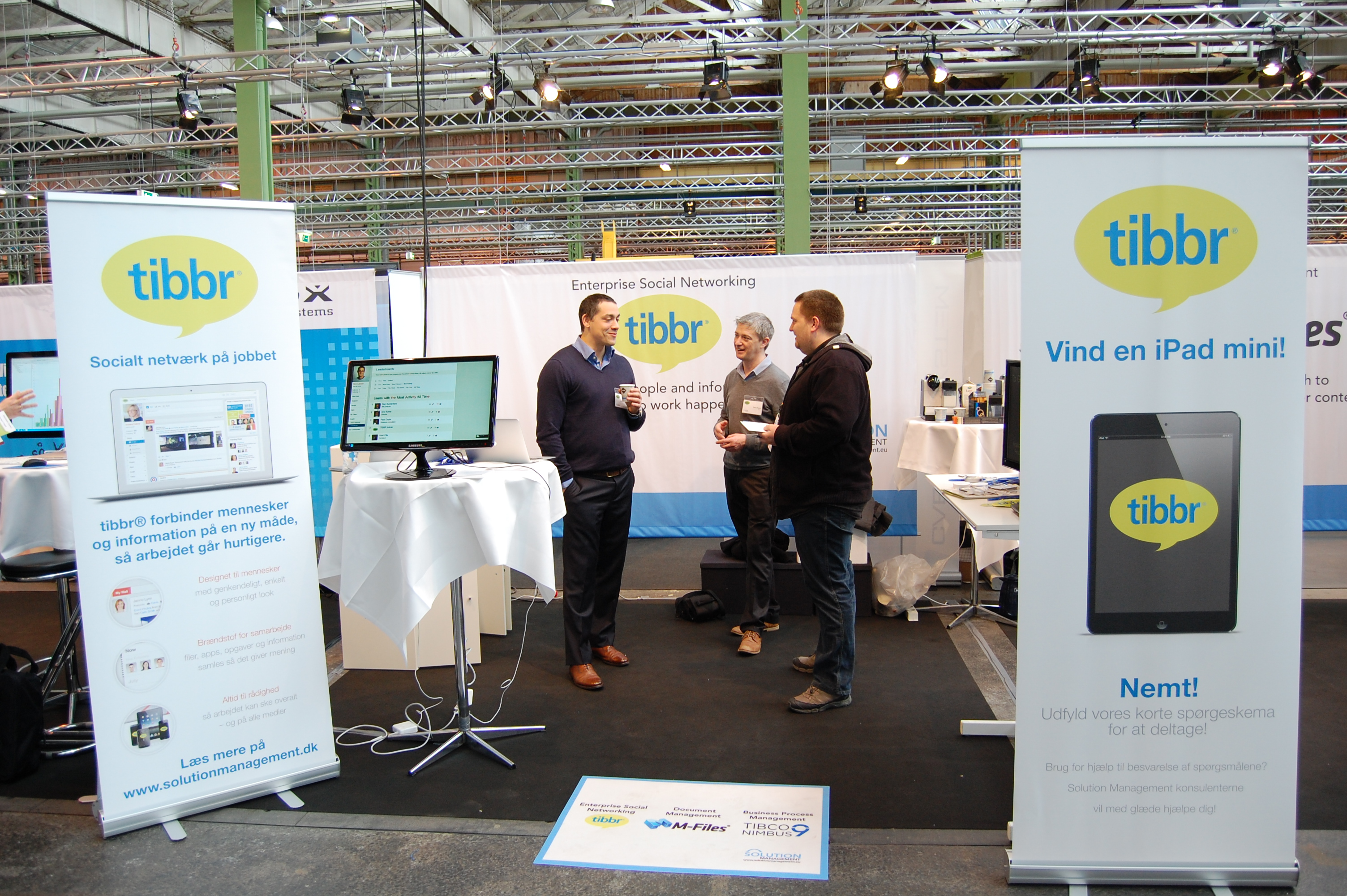 Tibbr stand #cwe13