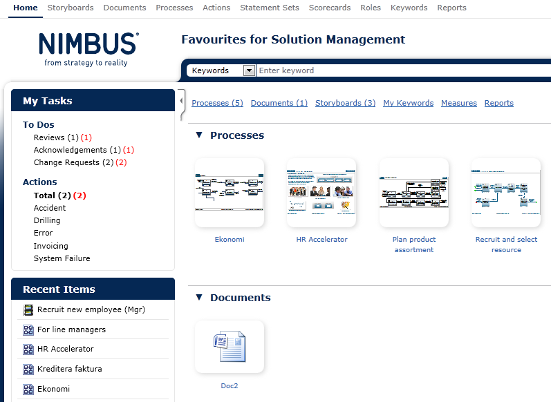 screenshot Nimbus 9